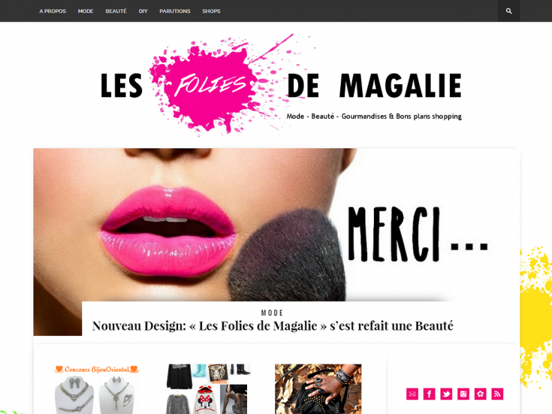 design blog mode magalie