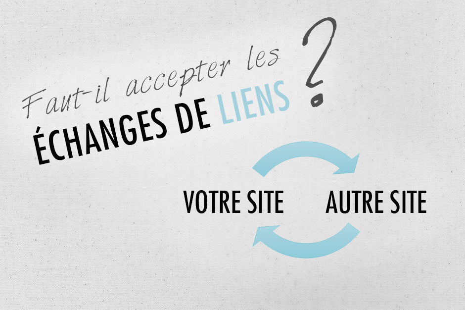 echange de liens referencement blog