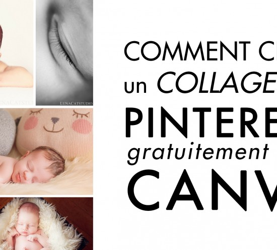 comment créer collage photo pour pinterest avec canva